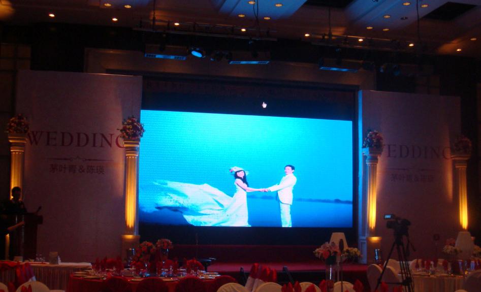 酒店宴会厅LED显示屏